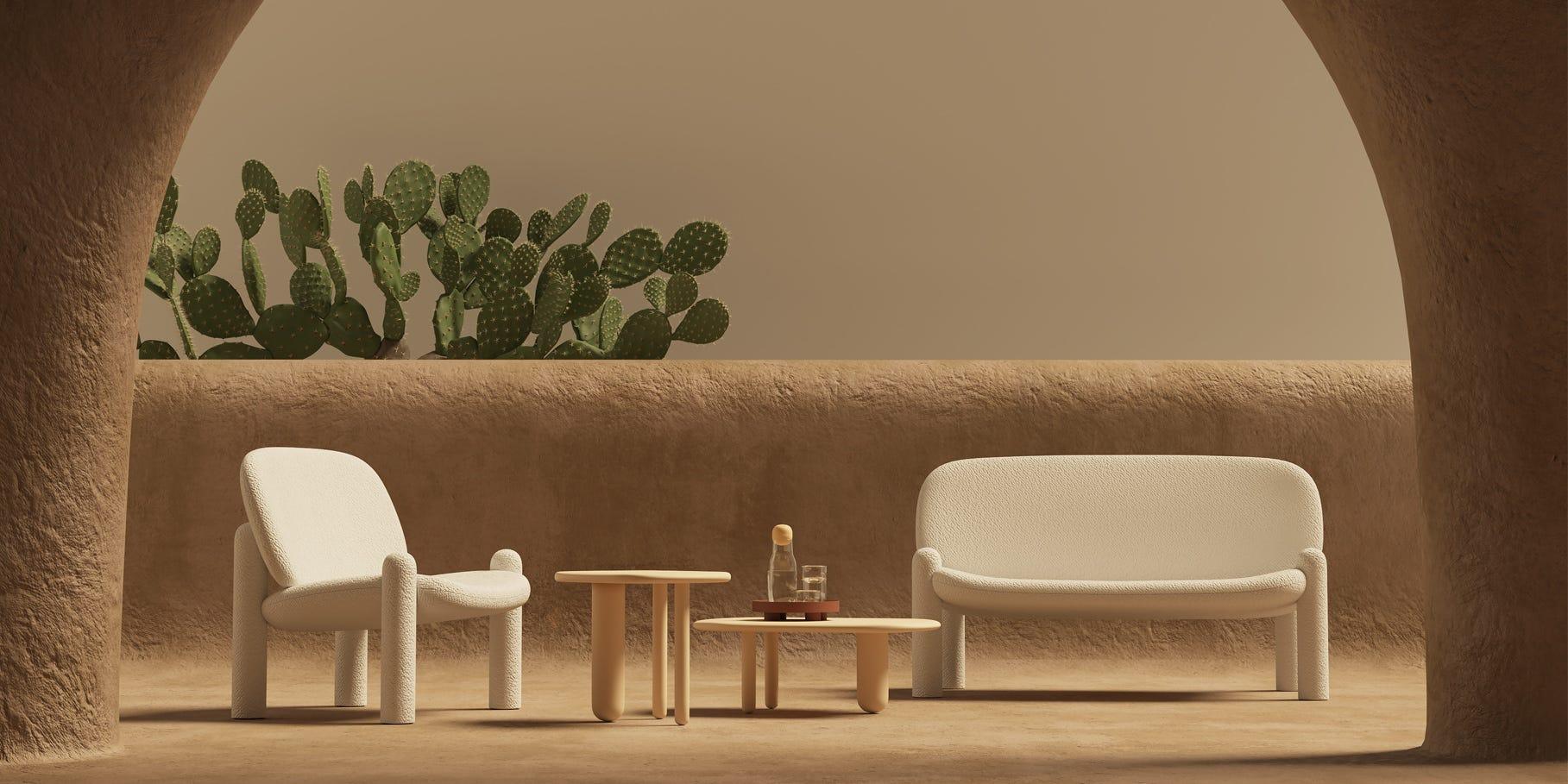Driade Tottori Collection designed by Kateryna Sokolova