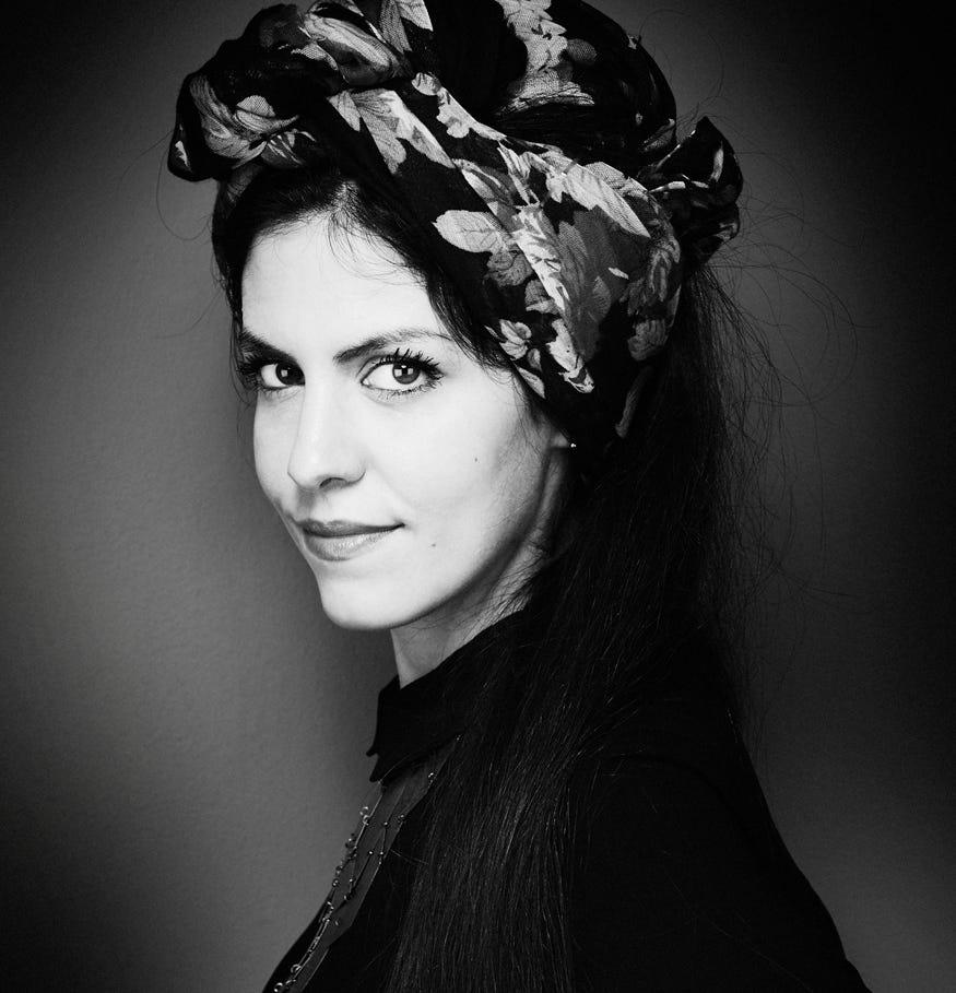 Driade Ritratto Elena Salmistraro