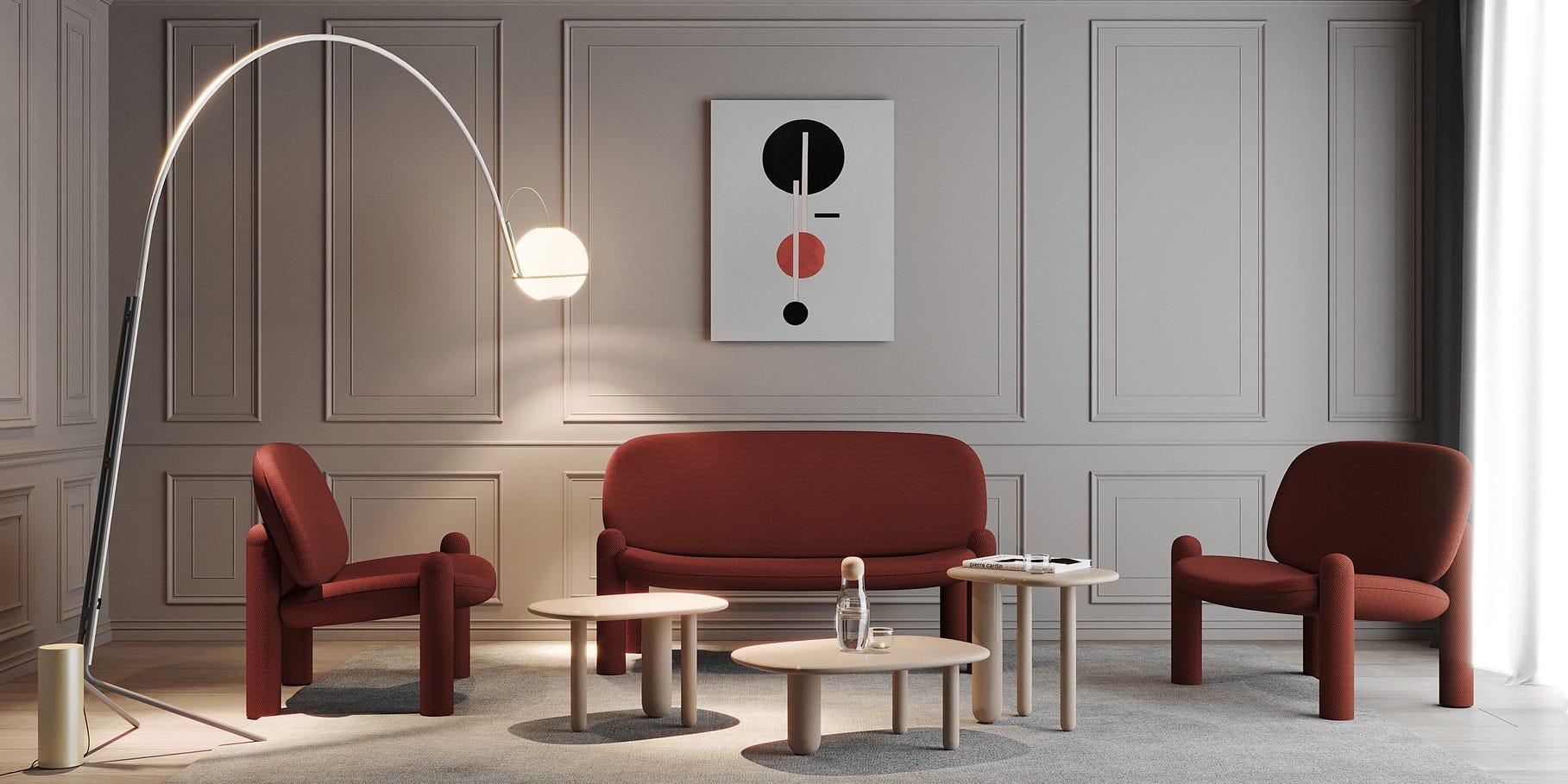 Driade Tottori designed by Kateryna Sokolova